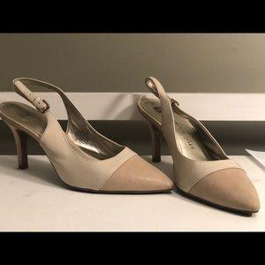 Anne Klein Sling Back Heels